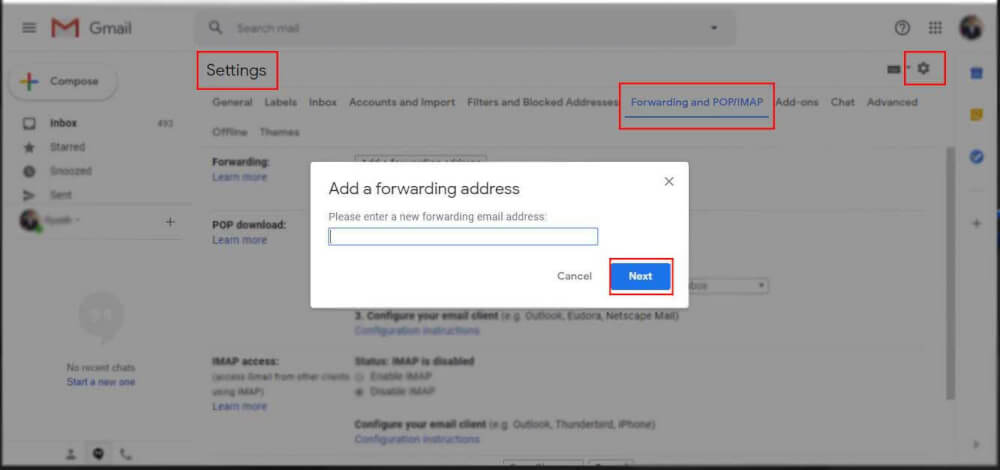 Automatically Forward Gmail Messages to Yahoo Mail